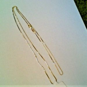 Jewelry - 14K Yellow Gold Necklace Chain 2.6 Gram 20 Inches